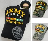 Licensed Army [Vietnam Veteran] *Assorted Colors